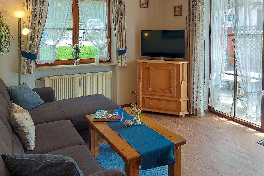 Ferienwohnung 1 - Wohnzimmer